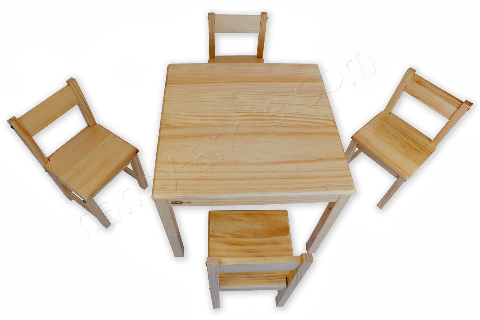 Jolly Kidz Children S Wooden Table And Four Chairs Kids