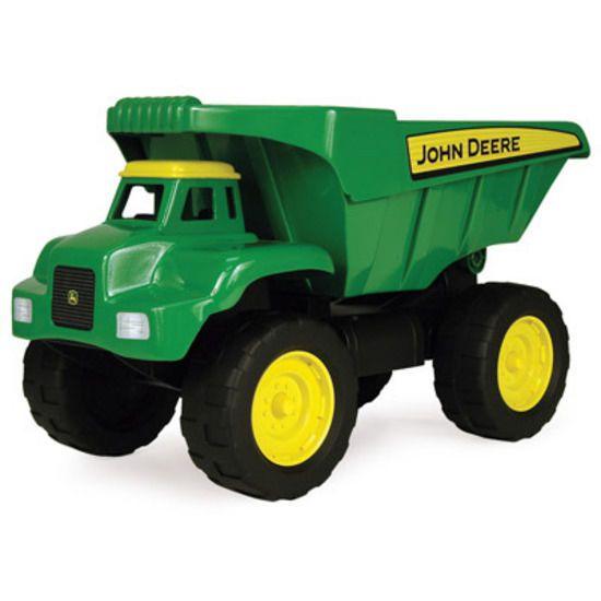 John Deere Steel Heavy Duty 53cm Big Scoop Dump Truck Toy