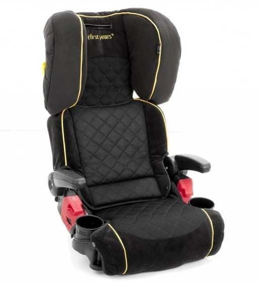 adjustable booster seat kids car booster seat foldable car seat ebay. Black Bedroom Furniture Sets. Home Design Ideas