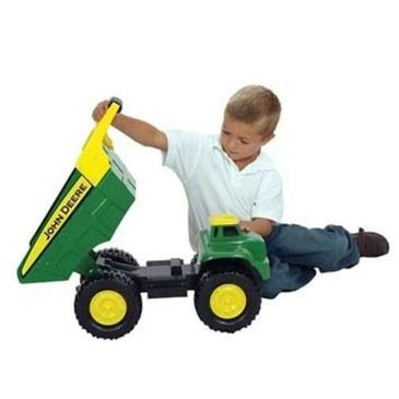 53cm John Deere Steel 21 inch Big Scoop Dump Truck Loader Toy 35350