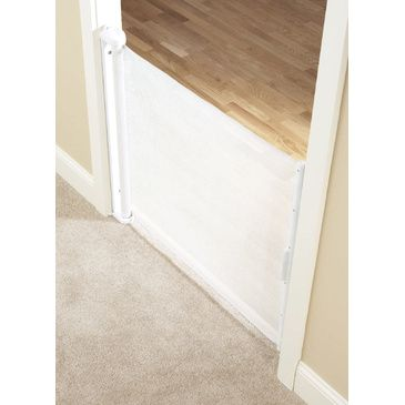 Baby Safety Gate Retractable Hide-a-way Barrier Toddler The First Years 61cm - 107cm