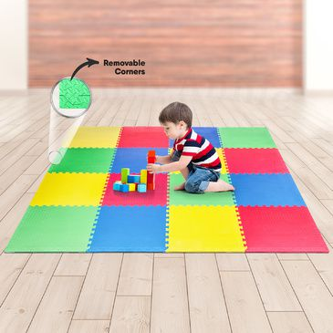 Baby EVA Play Mat (16 Pieces) (2.4m x 2.4m)