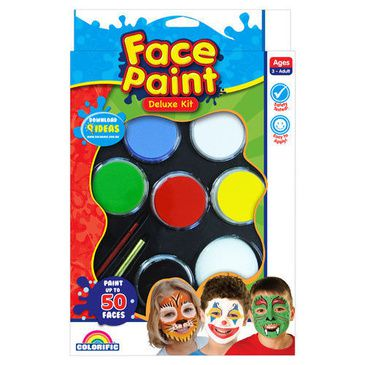 Face Paint  Deluxe Kit | Kids Face Painting Kit