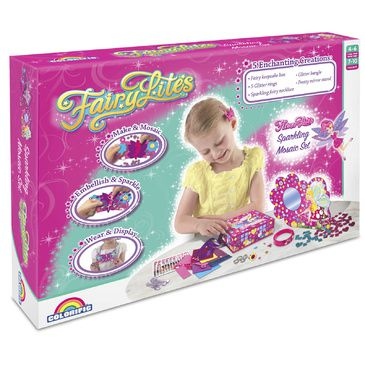 Childrens Craft Set FairyLites Mosaic Magic Set | Girls Craft Kit