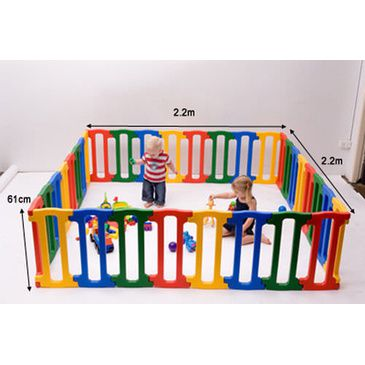 Baby Playpen - Jolly KidZ Giant Magicpanel Playpen for Children