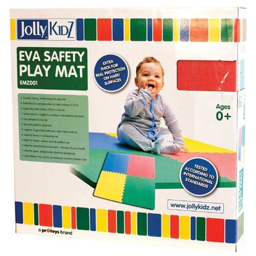 Kids Baby EVA Thick Foam Floor Puzzle Play Mat 1.2m x 1.2m Yoga Crawl Picnic