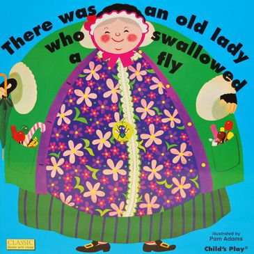 There Was an Old Lady - Children's Book | Kid's Book | Nursery Rhyme Book