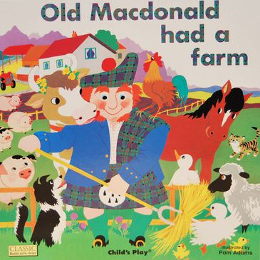 Old Macdonald had a Farm - Children's Book | Kid's Book | Child's Rhyming Book