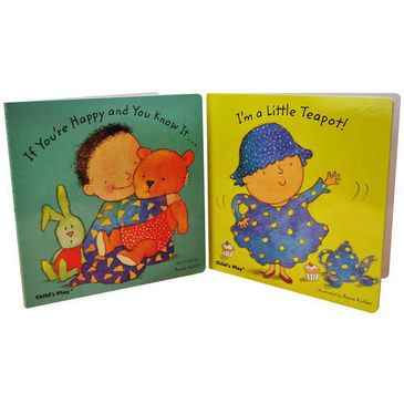 Baby Board Books - Song and Rhymes set of 2