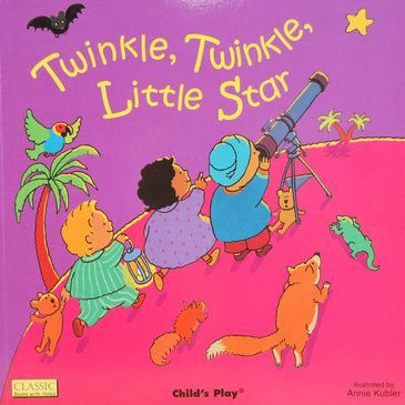 Twinkle, Twinkle, Little Star - Children's Book | Child's Early Learning Book