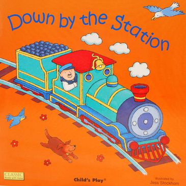 Down by the Station - Children's Book | Kid's Book | Child's Early Reading Book