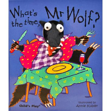 What's the time, Mr Wolf? - Finger Puppet Book | Child's Early Learning Book