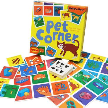 Pet Corner | Children's Board Game | Kid's Educational Activity Game