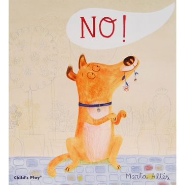 'No!' Soft-Cover Children's Book | Kid's Early Reading Book