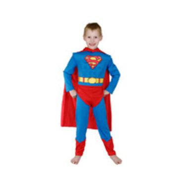 Superman Premium Dress up Costume (size 6-8)