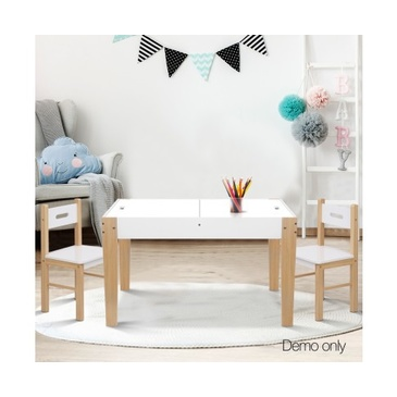 Nu Byron Activity Rectangle Table & 2 Chairs Set