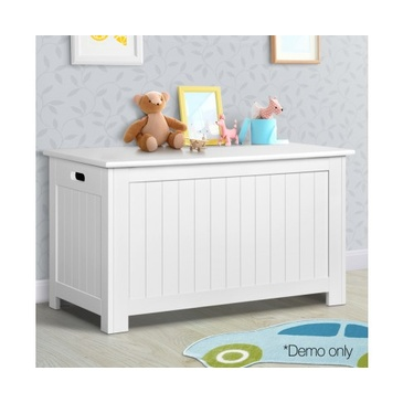 Nu Oxford Kid's Toy Box  Cabinet Chest - White