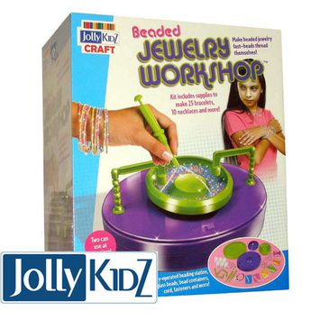 Jolly KidZ Craft Kit - Beaded Jewellery Workshop