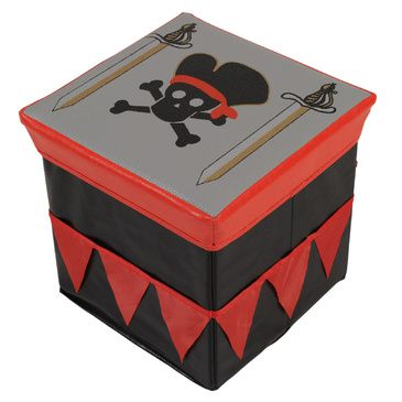 Play Tent | Pirate Toy Storage Box | Childrens Toy Storage Box