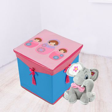 Kids Toy Box | Baby Babushka Toy Storage Box | Childrens Toy Storage Box