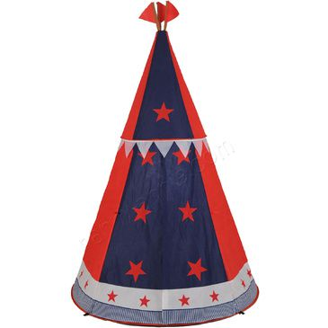 Play Tent | Star Tepee Pop-Up Play Tent | Cubby house