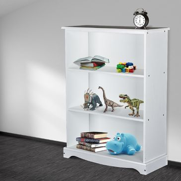 Classic Childrens White BookShelf | Book Case