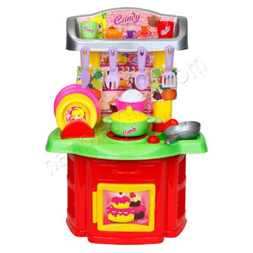 Candy Chef Kitchen | Toy Kichen with Pots and Pans | Pretend Play Kitchen
