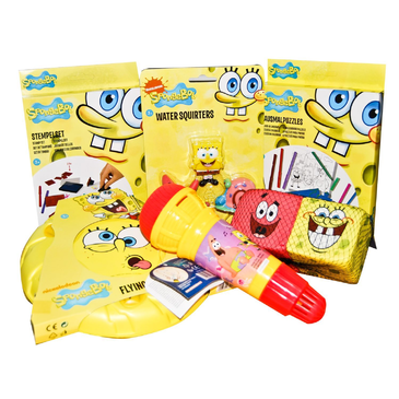 Spongebob Xmas Bargain Pack 6 Items $60 Value