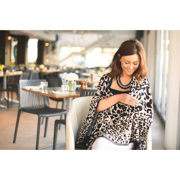 Breastfeeding Blanket Leopard