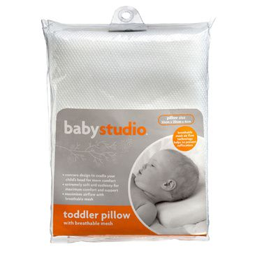 Toddler Pillow with Breathable Mesh by BabyStudio | Infant's Pillow