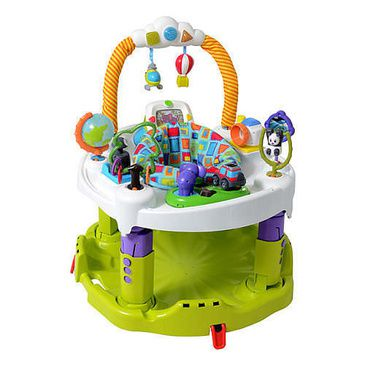 Evenflo Triple Fun ExerSaucer Activity Centre 'World Explorer'