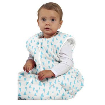 Baby Sleeping Bag | SLeep Suit Studio Bag 6-18M Pinacles Aqua