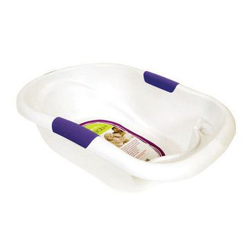 Oasis Baby Bath - Large capacity White Baby Bath Tub