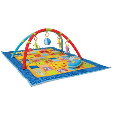 Baby Activity Mat - Taf Toys 3-in-1 Curiosity Gym