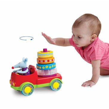Taf Toys - Baby Stacker Truck Play Toy
