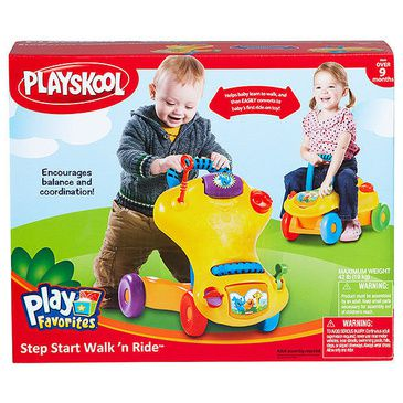 Playskool Toddler Step Start Walk N Ride 2 in 1 Baby Walker Kids Ride-on Car