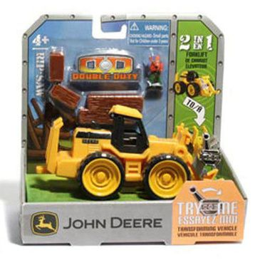 John Deere 2 in 1 Forklift Transformer