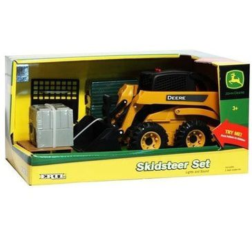 John Deere Skid Loader Playset
