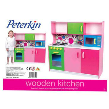 Dolls World - Kids Large Wooden Kitchen