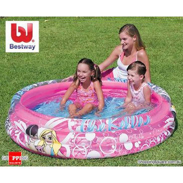 The Belles Playpool - Fun Pink Play Pool for Children - Bestway Playpool