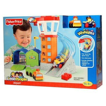 Fisher Price Little People Wheelies Airport Playset