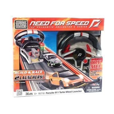 Mega Bloks Need for Speed Wheel Launcher