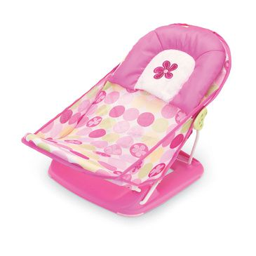 Deluxe Baby Bather Bath Support - Circle Daisy Bath Support Seat