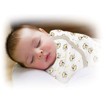 Large Cotton Swaddle Monkey Infant Baby Cotton Sleeping Bag Newborn Summer Infant