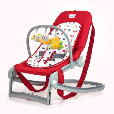 Star Kidz Astro Baby Rocker/Bouncer -  Red Hearts