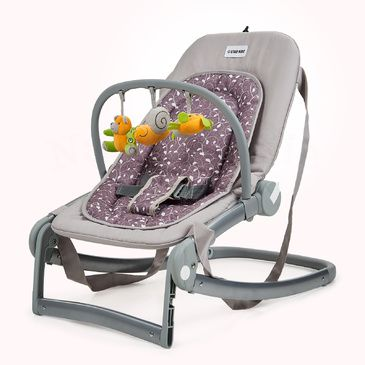 Star Kidz Astro Baby Rocker/Bouncer -  Silver Leaves