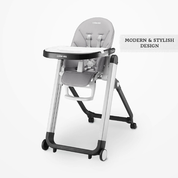 Star Kidz Bimberi High Chair - Grey