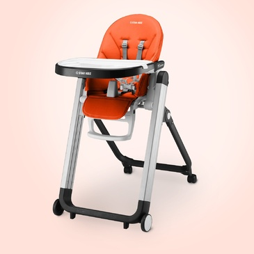 Star Kidz Bimberi High Chair - Orange