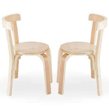 Nu Hyams 2 Chairs Set Natural