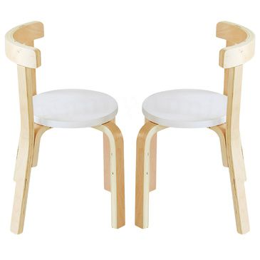 Nu Hyams 2 Chairs Set White